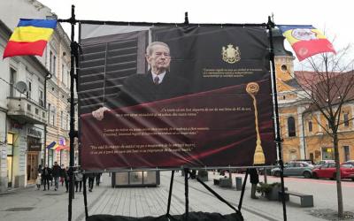 Un ultim omagiu pentru Regele Mihai la Cluj